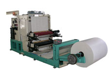 Printing and punching machine